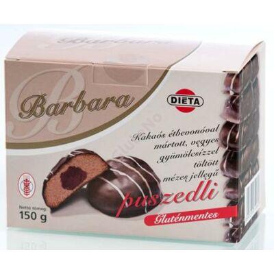 Barbara Gluténmentes Töltött puszedli étbevonóval  150 g