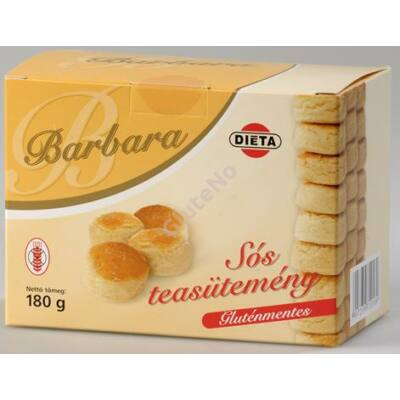 Barbara Gluténmentes Sós teasütemény  180 g