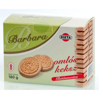 Barbara Gluténmentes Omlós keksz - 180 g