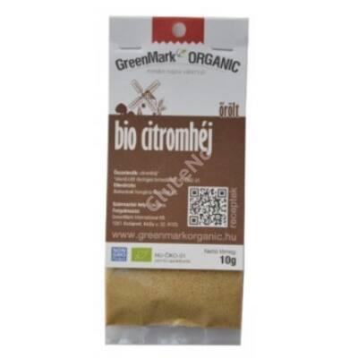 Greenmark Bio Citromhéj őrőlt - 10 g