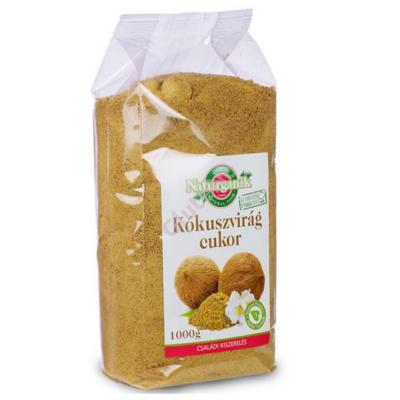 Naturganik Kókuszvirág cukor -1000 g