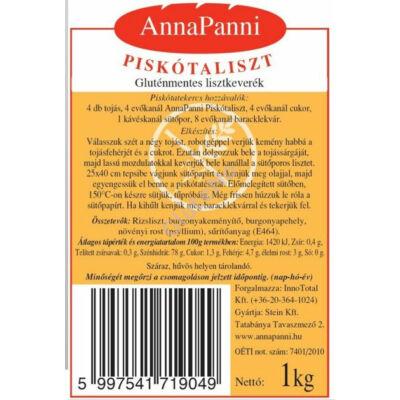AnnaPanni Gluténmentes Piskótaliszt - 1 kg