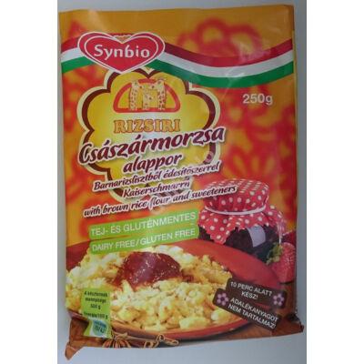 RIZSIRI Glutén- és Tejmentes Császármorzsa alappor  édesítőszerrel -  250 g