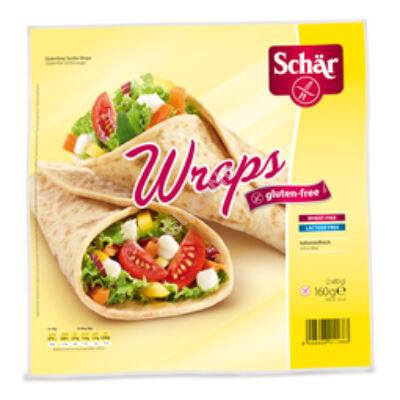 Schär Gluténmentes Wraps -  2*80 g