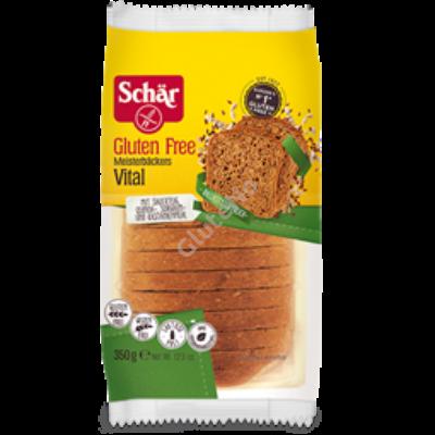 Schär Vital gluténmentes szeletelt barna kenyér  - 350gr
