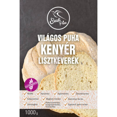 Szafi Free gluténmentes Világos puha kenyér lisztkeverék - 1000 g