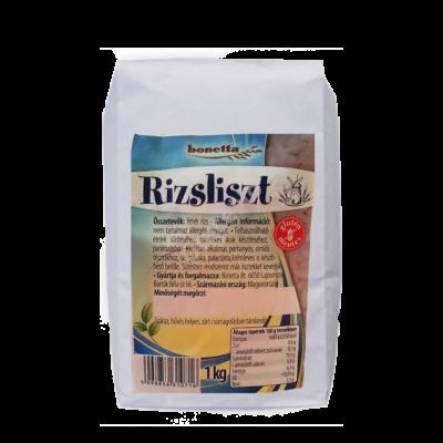 Bonetta Gluténmentes rizsliszt - 1000 g