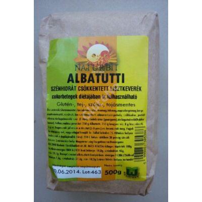GLUTENIX  ALBATUTTI diabetikus gluténmentes lisztkeverek 500gr