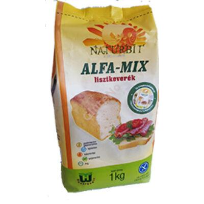 Naturbit ALFA MIX gluténmentes lisztkevék 1000 g