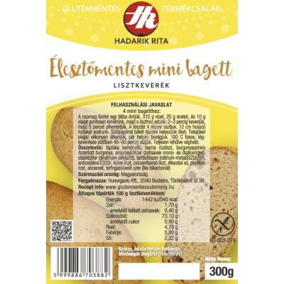 HR Gluténmentes, élesztőmentes mini bagett lisztkeverék - 300 g