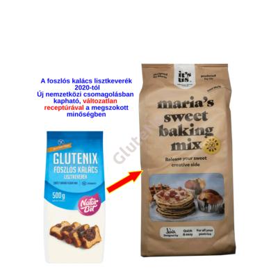 It's Us Maria's Sweet Baking mix  - gluténmentes GLUTENIX Foszlós  Kalács 500 g