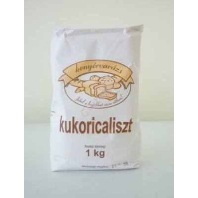 Kenyérvarázs gluténmentes Kukoricaliszt - 1000 g
