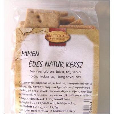 MIMEN Gluténmentes édes natúr keksz - 150 g
