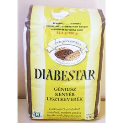 Diabestar Genius Diabetikus kenyér lisztkeverék - 1