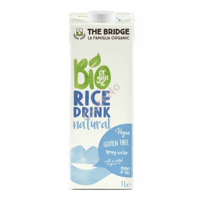 The Bridge Rizs Ital bio, natúr - 1000 ml