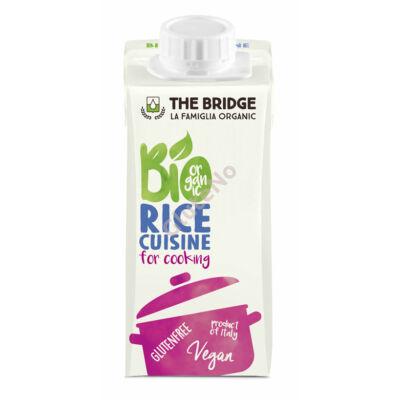 The Bridge Rizs tejszín bio 200 ml