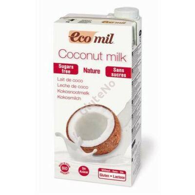 Ecomil bio kókusztej ital cukormentes - 1000 ml