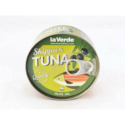 Tonhal olíva olajban Skipjack tuna (La Verde) - 170 g