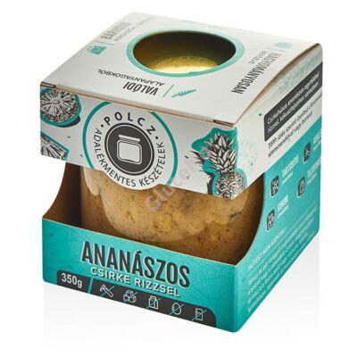 Polcz Ananászos csirke rizzsel - 350 g