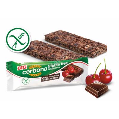 Gluténmentes Csokoládés-meggyes szelet  (Cerbona) - 35 g