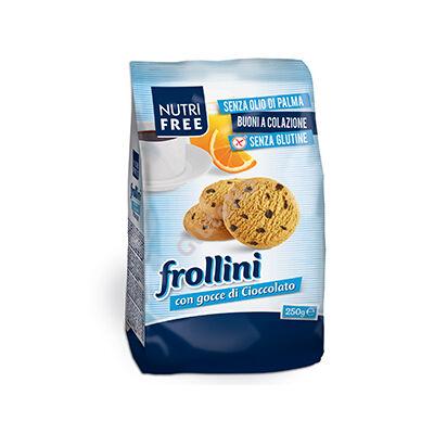 Nutri Free Frollini con gocce di cioccolato - 250 g
