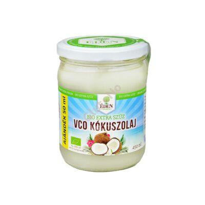 ÉDEN Prémium bio extraszűz kókuszolaj - 450 ml