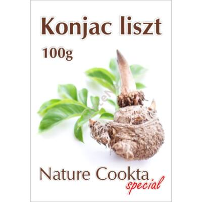 Nature Cookta Konjac liszt - 100 g
