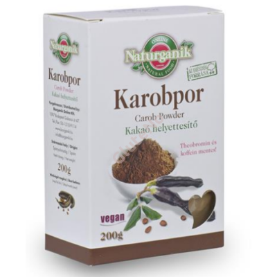 Naturmind Karobpor - 250 g