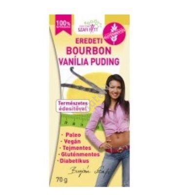Szafi Fitt   Bourbon vaníliás Pudingpor gluténmentes - 70 g