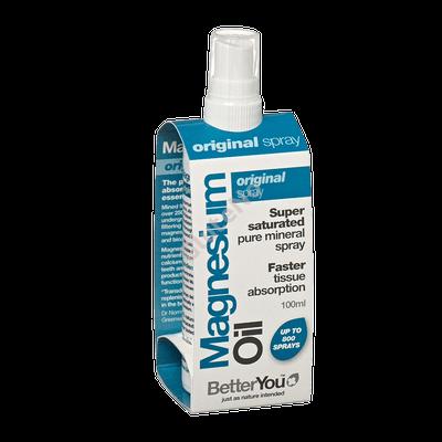 BetterYou Magnézium Olaj Original Spray - 100 ml