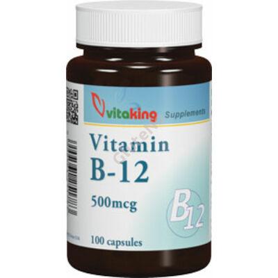 Vitaking B12-Kobalamin 500mcg kapszula - 100 db