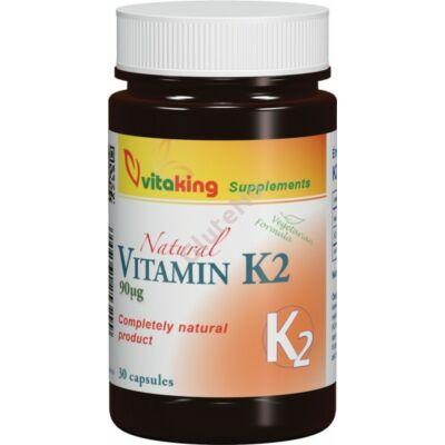 Vitaking K2-vitamin kapszula 90 mcg - 30 db