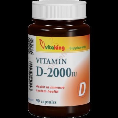 Vitaking  D-Vitamin - 2000 NE kapszula - 90 db