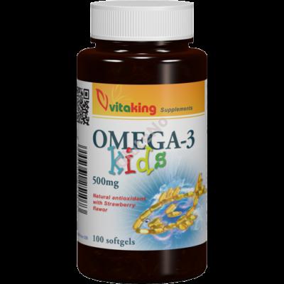 Vitaking Omega-3 KIds - 500 mg - 100 db