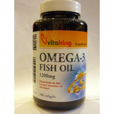 Vitaking Omega-3 1200mg  - 90 db