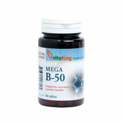 Vitaking Mega B-50 komplex tabletta - 60