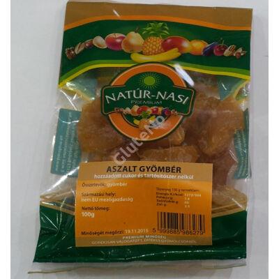 Natúr- Nasi Aszalt Gyömbér (fruktózzal, kén-dioxid mentes) - 100 g