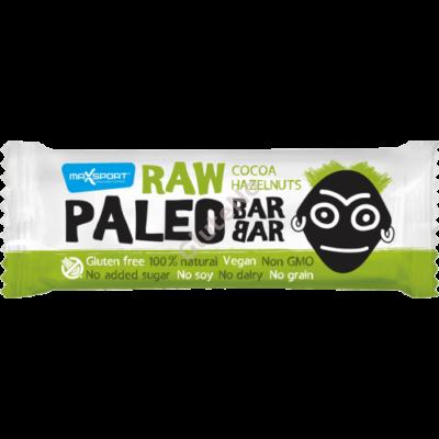 Max Sport Paleo nyers szelet mogyorós-kakaós - 50 g