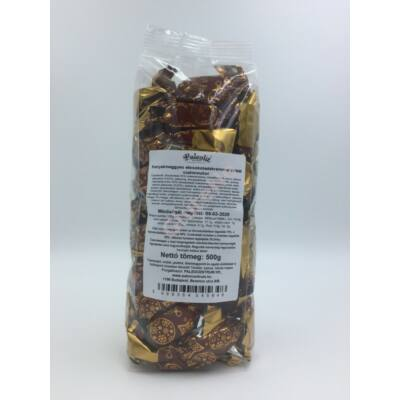 Paleo Konyakmeggyes étcsokoládé krémmel töltött szaloncukor - 500 g