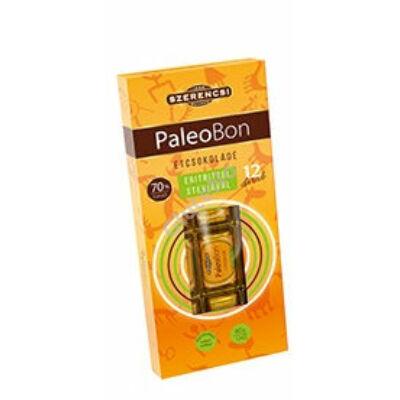 Paleobon Étcsokoládé édesítő szerrel (Szerencsi) - 12x5g