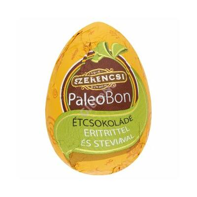 Paleobon Étcsokoládé tojás édesítő szerrel - 20 g