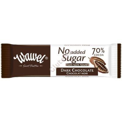 Wawel No added sugar étcsokoládé - 30 g