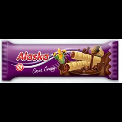 Alaska gluténmentes kukorica rudacska csokoládé krémmel - 18 g