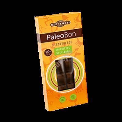 Paleobon étcsokoládé édesítőszerrel (Szerencsi) - 100 g