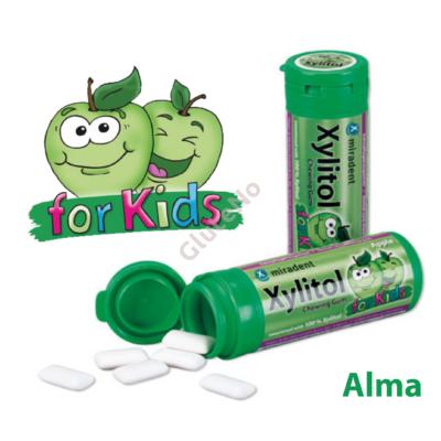 Xylitol for Kids Rágógumi Alma - 30 db