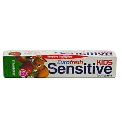 Eurofresh Sensitive Kids fogkrém - 50 g