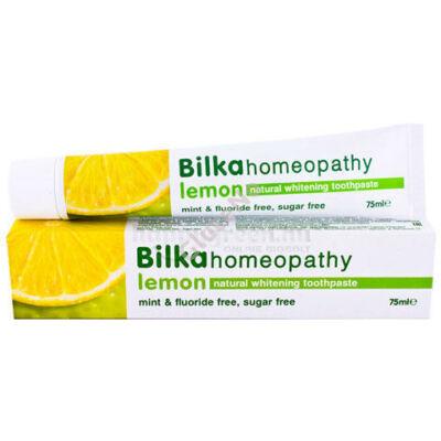 Bilka homeopathy fehérítő hatású fogkrém Citrom - 75ml