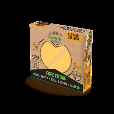 Green Vie  Cheddar vegán sajt, gluténmentes - 250 g