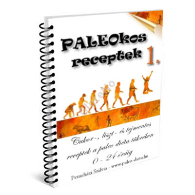 PALEOKOS 1. Receptkártya könyv