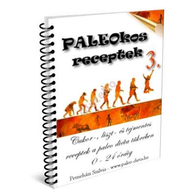 PALEOKOS 3. Receptkártya könyv